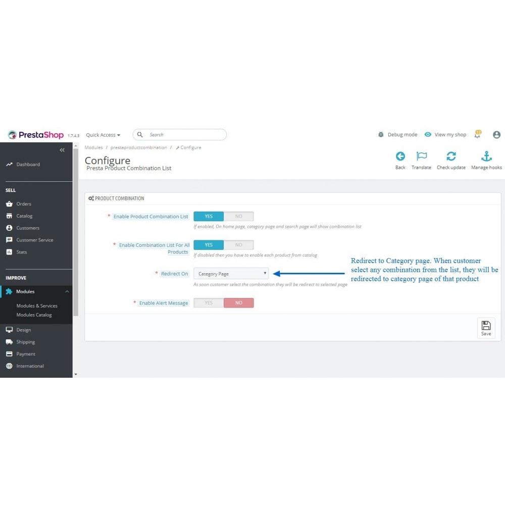 module - Bundels & Personalisierung - Show Product Combination - 7