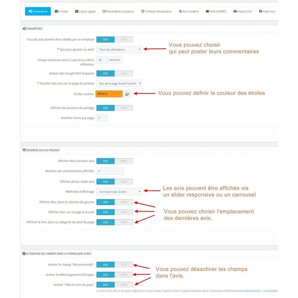 module - Avis clients - Commentaires avancés avec photos + Google rich snippets - 9