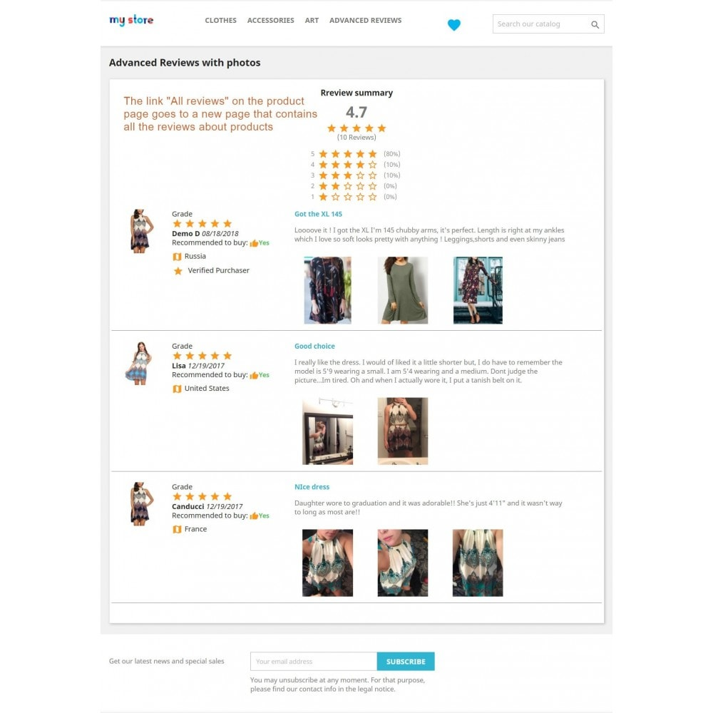 module - Customer Reviews - Advanced Reviews: Photos, Reminder, Google Snippets - 17