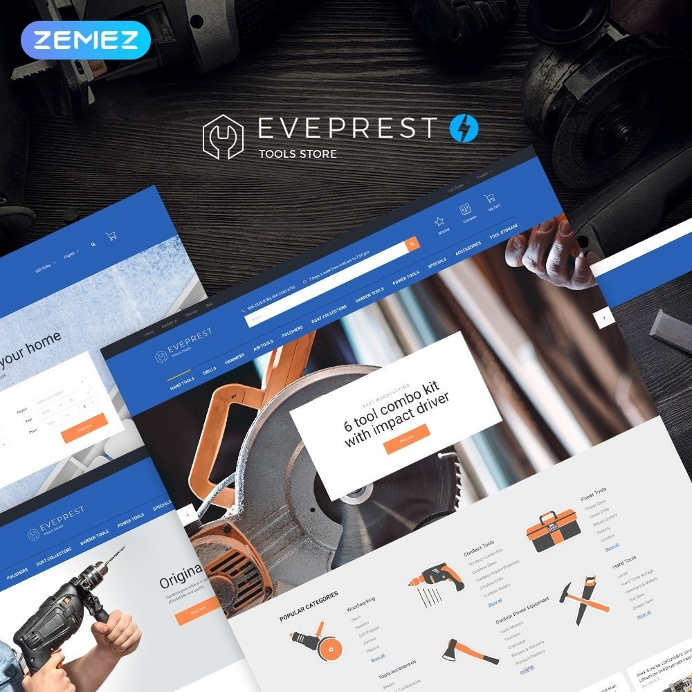 theme - Electronics & Computers - Eveprest - Tools Store - 2