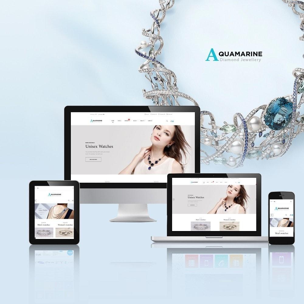 theme - Ювелирные изделия и Аксессуары - Leo Aquamarine - 1