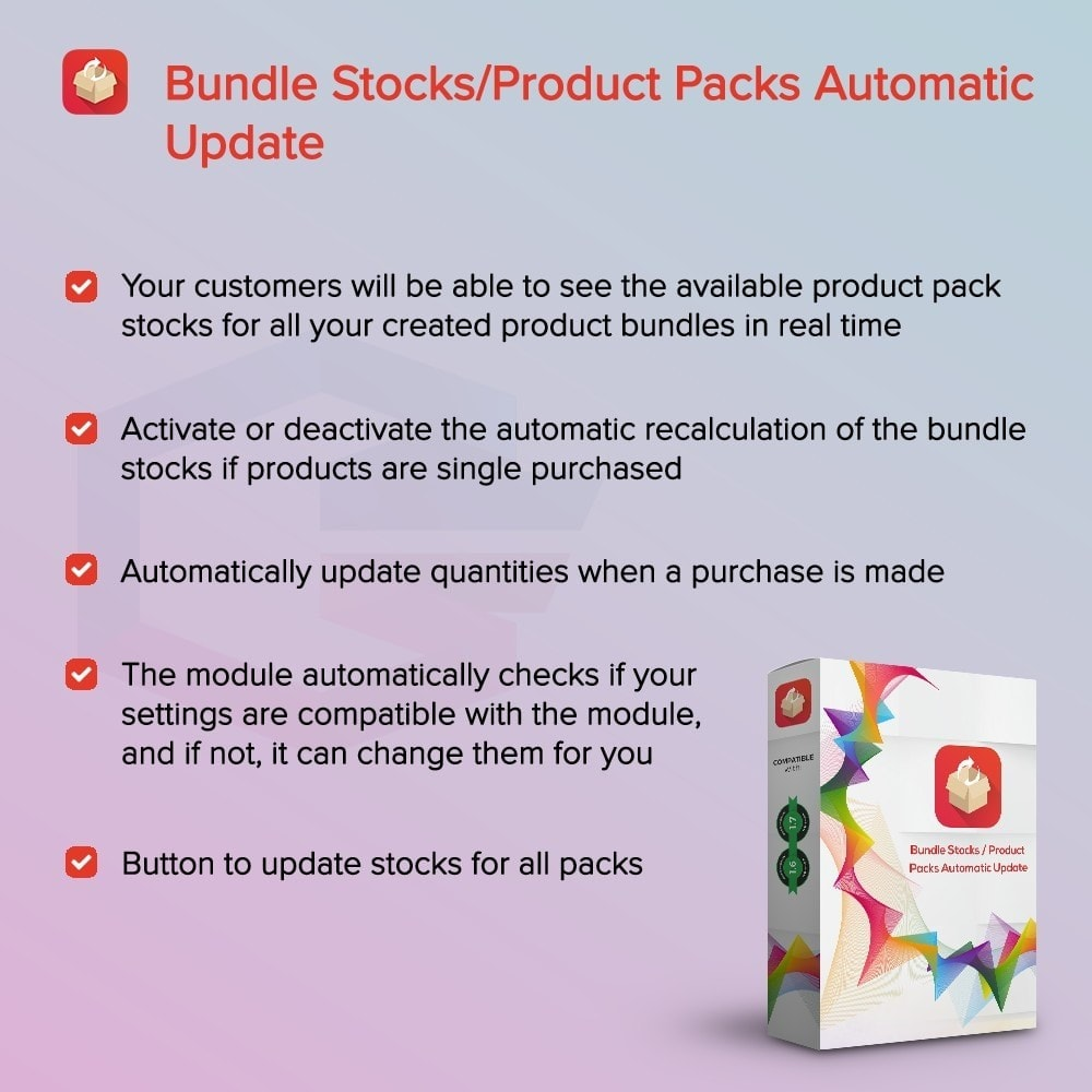 module - Cross-selling & Product Bundle - Bundle Stocks / Product Packs Automatic Update - 1