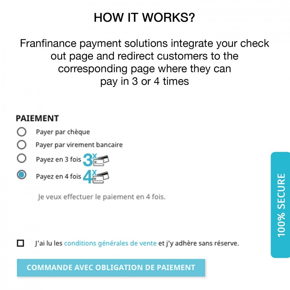 module - Payment by Card or Wallet - Payment solutions with Franfinance - 3