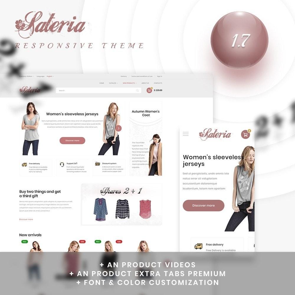 theme - Fashion & Shoes - Sateria Fashion Store - 1
