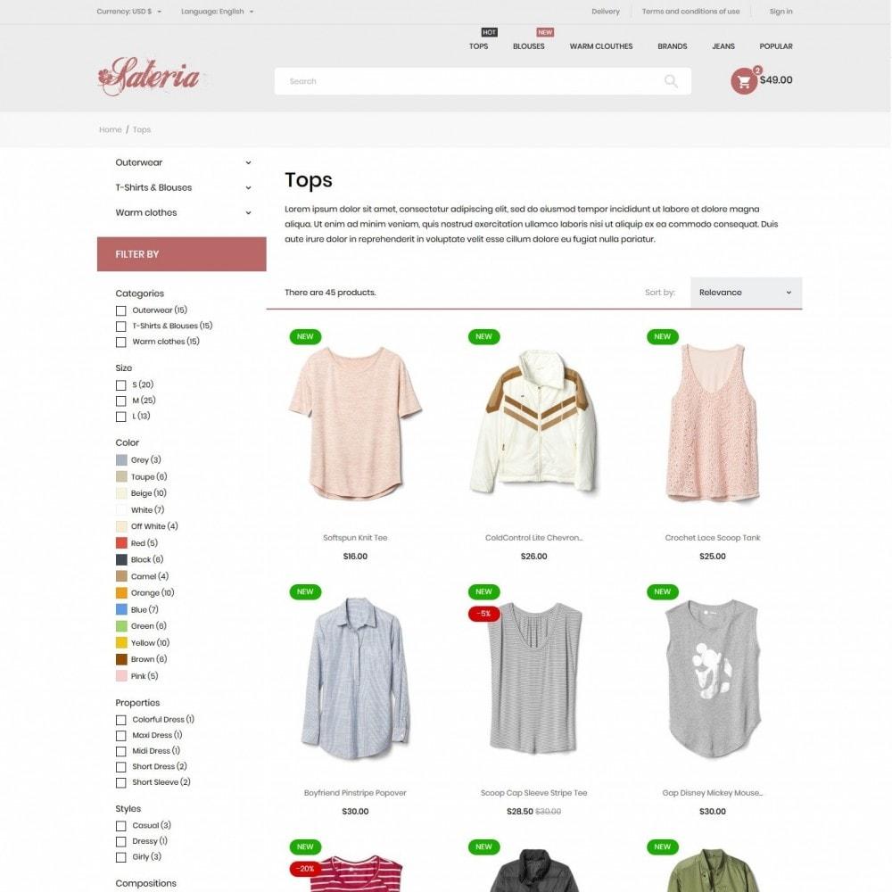 theme - Fashion & Shoes - Sateria Fashion Store - 5
