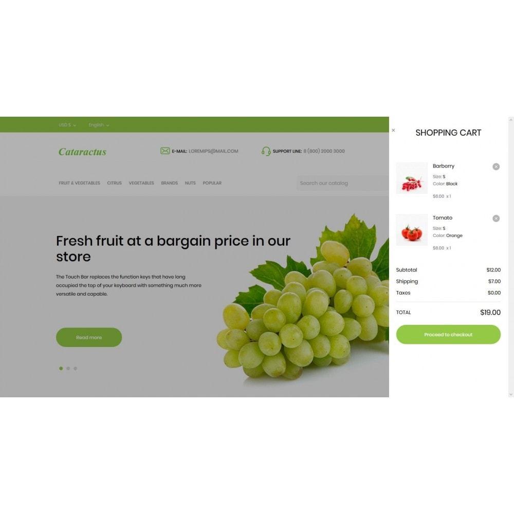 theme - Food & Restaurant - Cataractus - 7