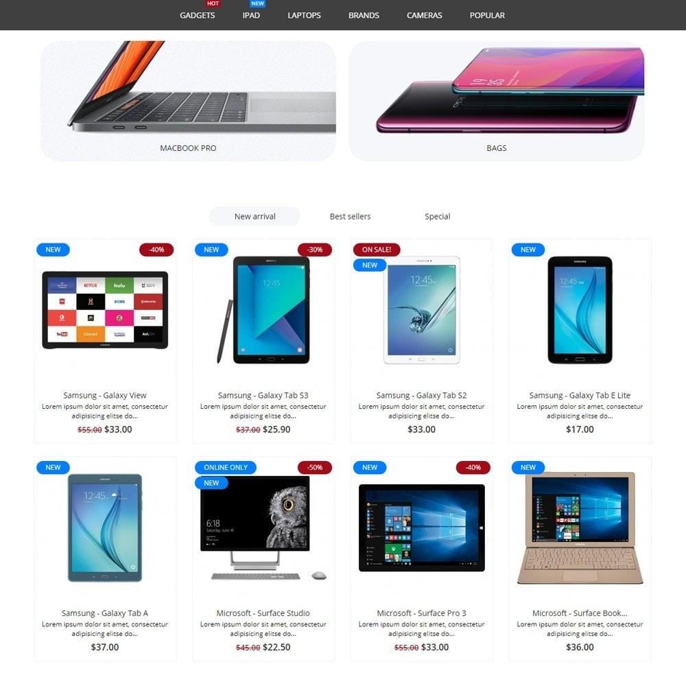 theme - Electronics & Computers - eCore - High-tech Shop - 3