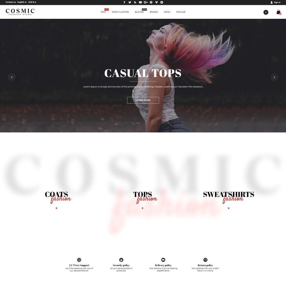 theme - Fashion & Shoes - Cosmic Fashion Store - 2