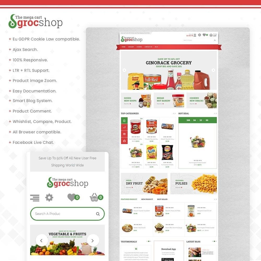theme - Żywność & Restauracje - grocshop - vegetables & grocery store - 1