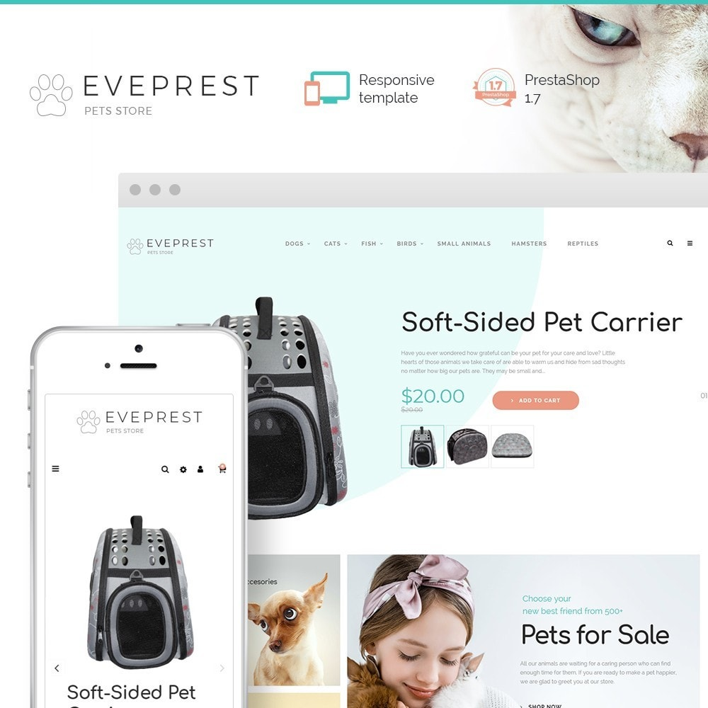 theme - Animals & Pets - Eveprest - Pets Store - 1
