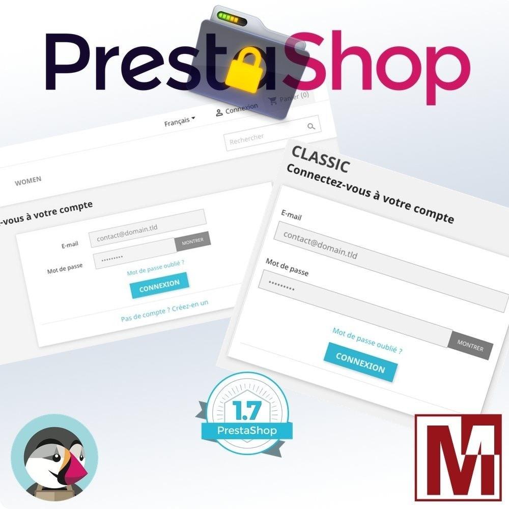 module - Sécurité & Accès - B2B Privatisez votre boutique - 2