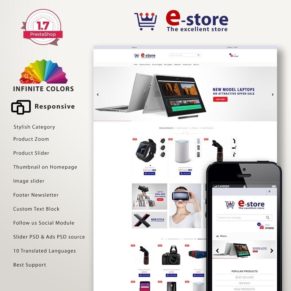 Estore - Electronic Premium Multistore Template