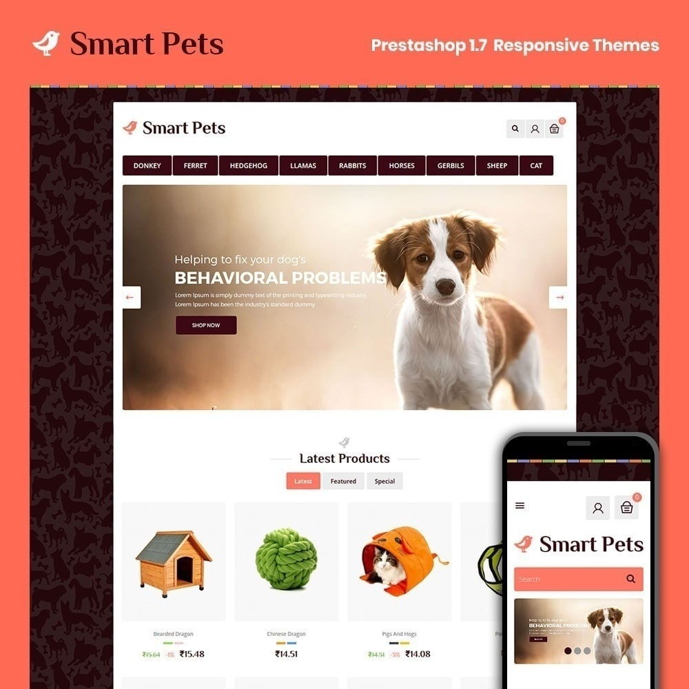 theme - Animaux - Smart Pet - Animalerie - 1