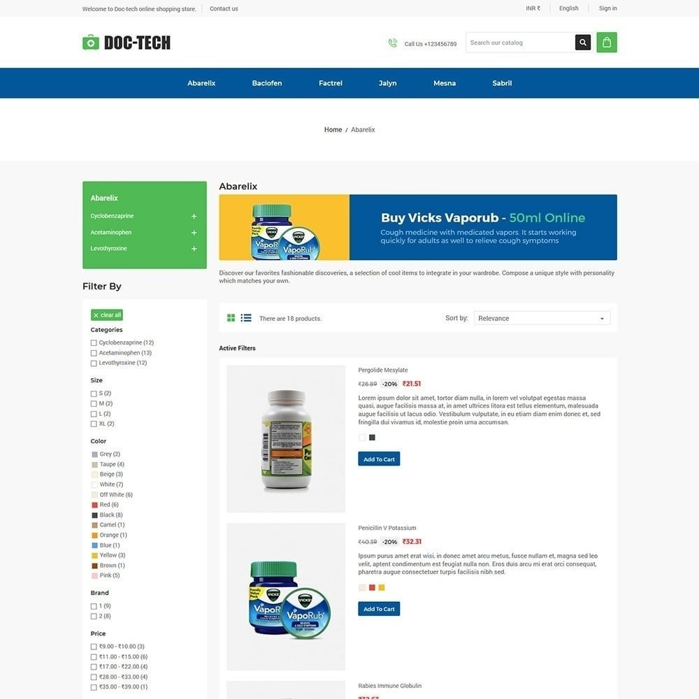 theme - Health & Beauty - Doctech - Medical Store - 3