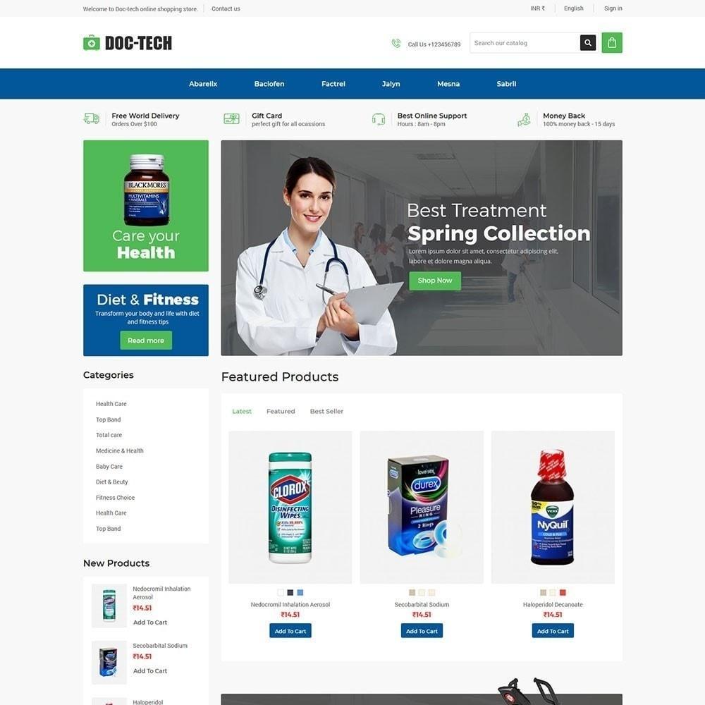 theme - Salud y Belleza - Doctech - Tienda médica - 4