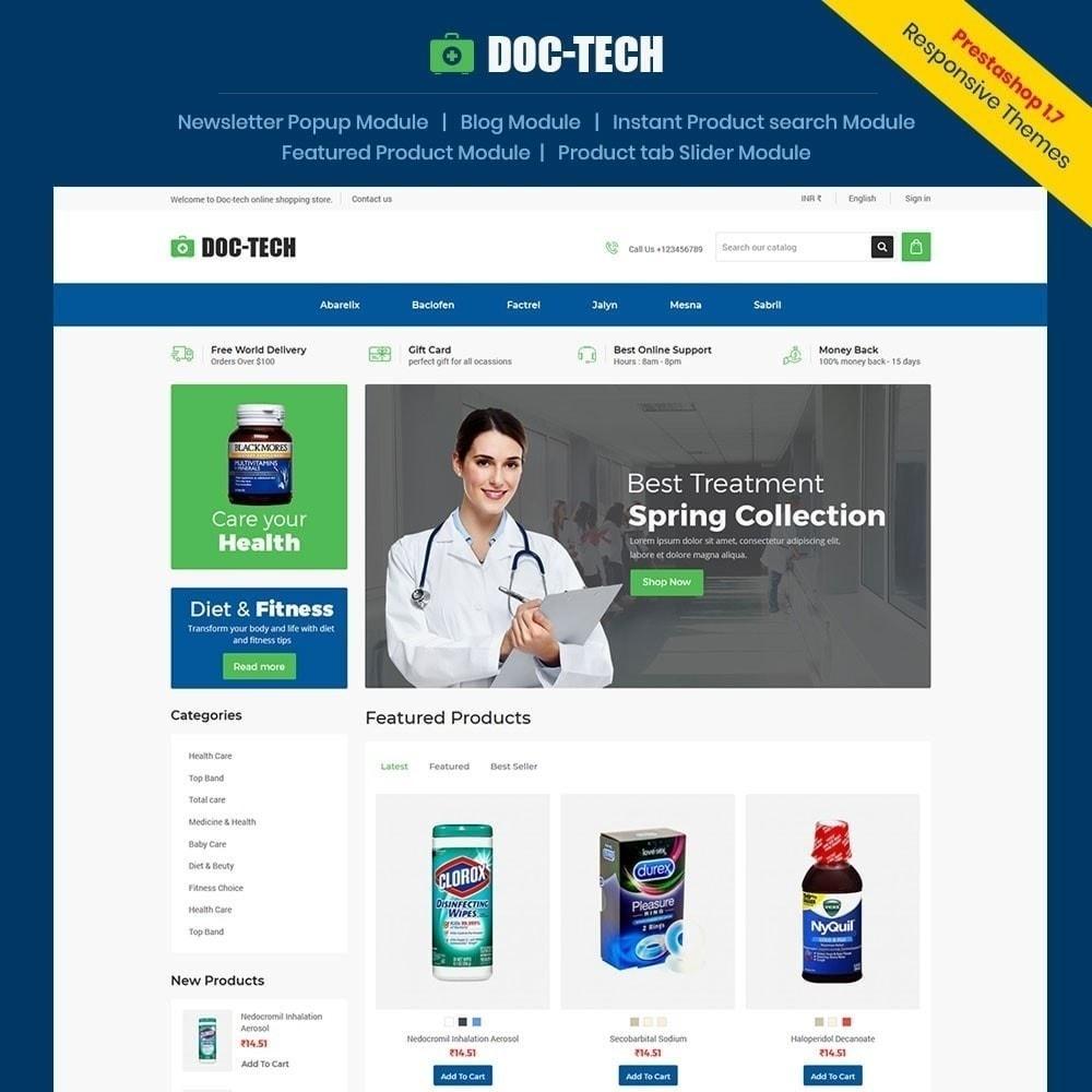 theme - Здоровье и красота - Doctech - медицинский магазин - 1