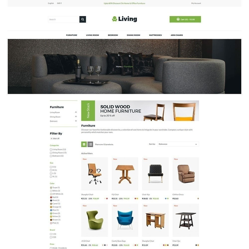 theme - Home & Garden - Living - Furniture Store - 4