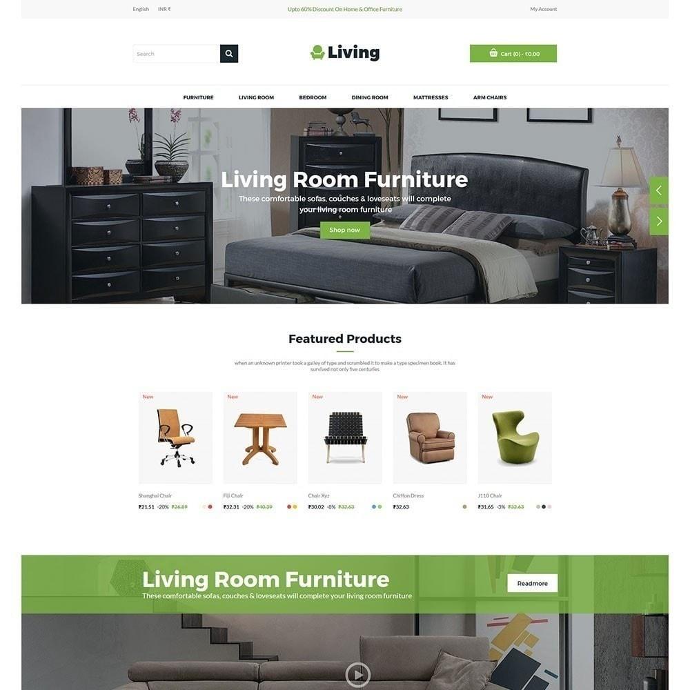 theme - Maison & Jardin - Living - Magasin de meubles - 3
