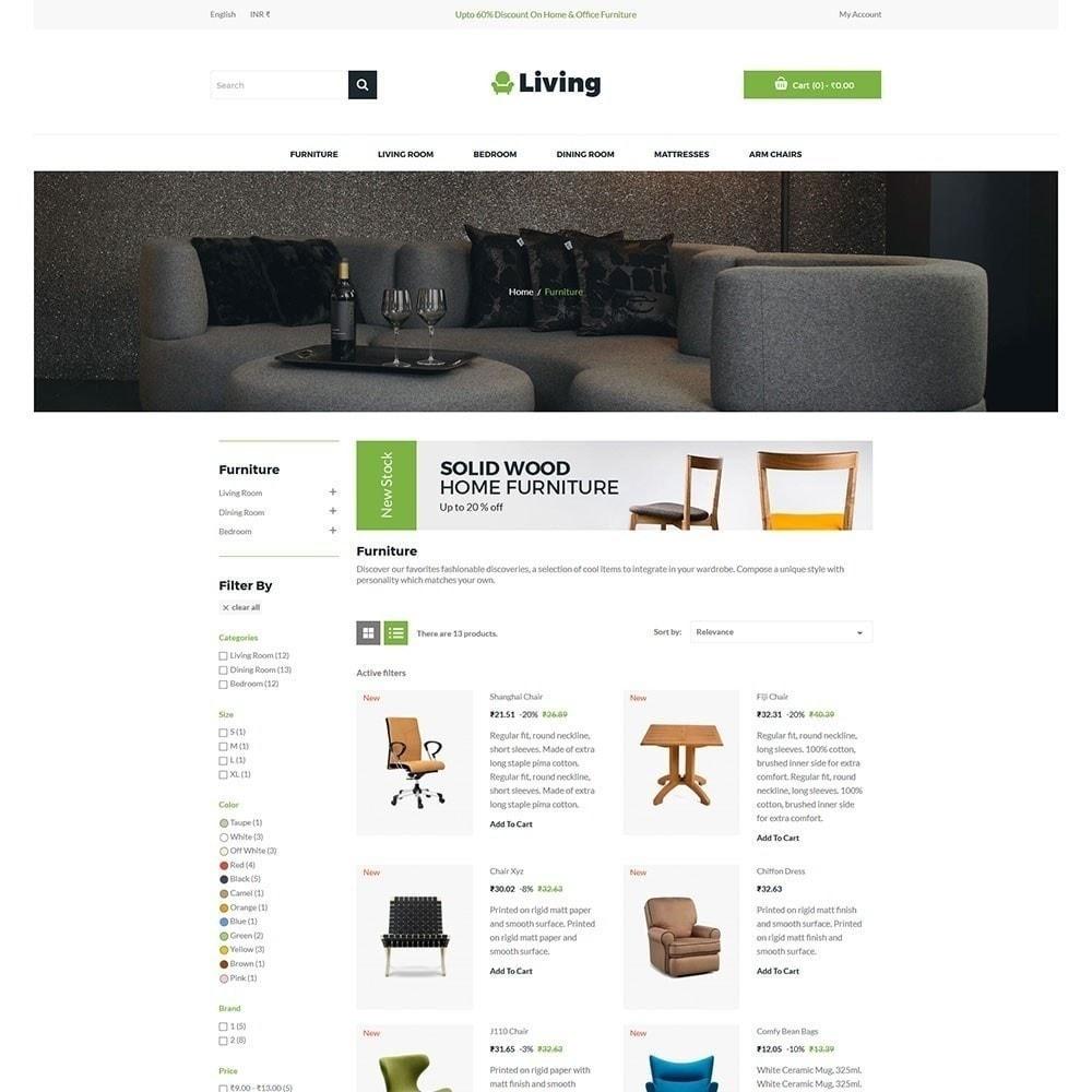 theme - Maison & Jardin - Living - Magasin de meubles - 4