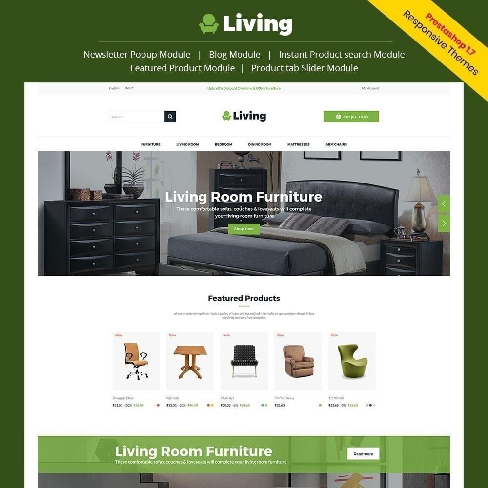 theme - Casa & Jardins - Living - Loja De Móveis - 1