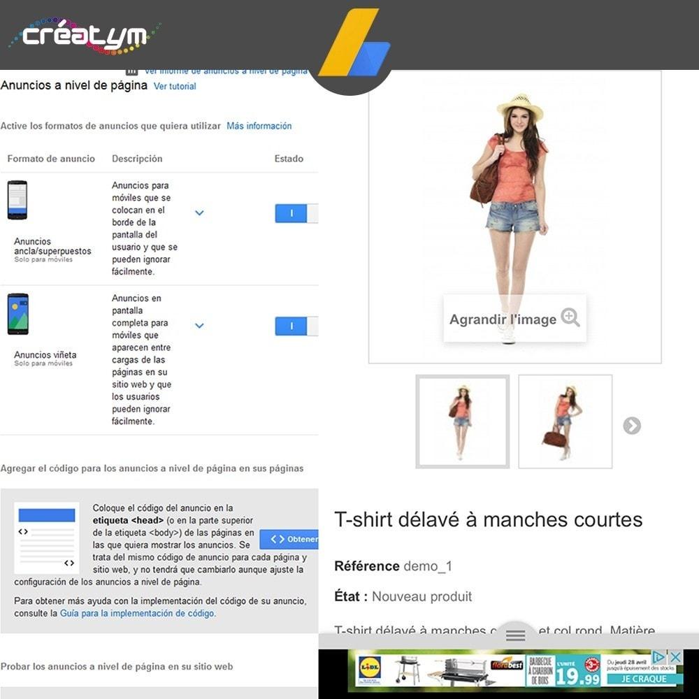 module - SEM SEA - Posicionamiento patrocinado & Afiliación - Google Adsense - 7