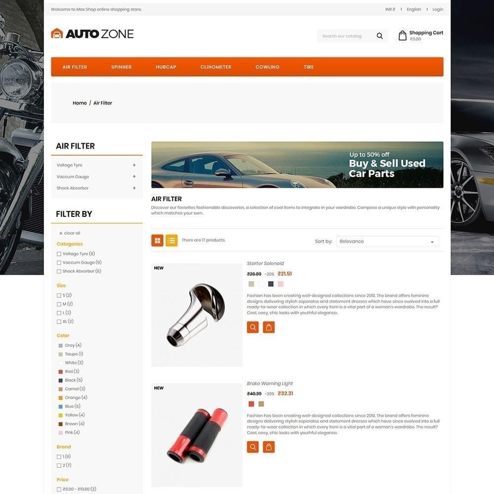 theme - Autos & Motorräder - Autozone - Auto Store - 5