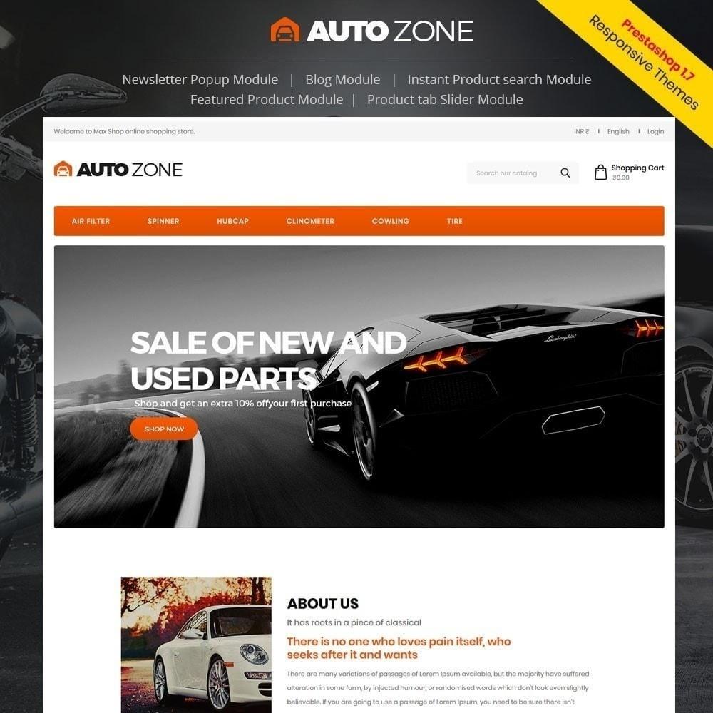 theme - Авто и Мото - Автозона - Авто-магазин - 1