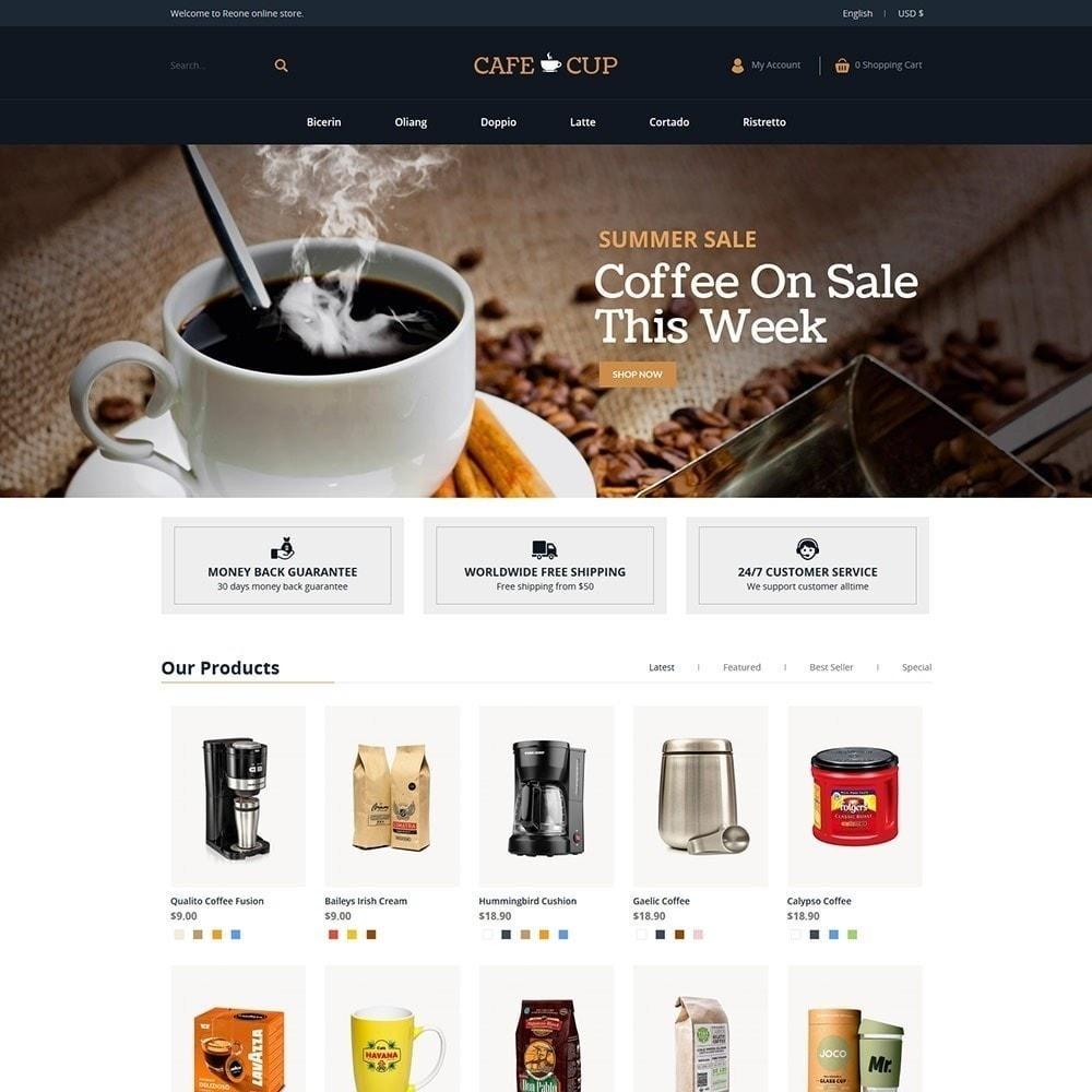 theme - Продовольствие и рестораны - Кафе-чашка - Кофейный магазин - 3