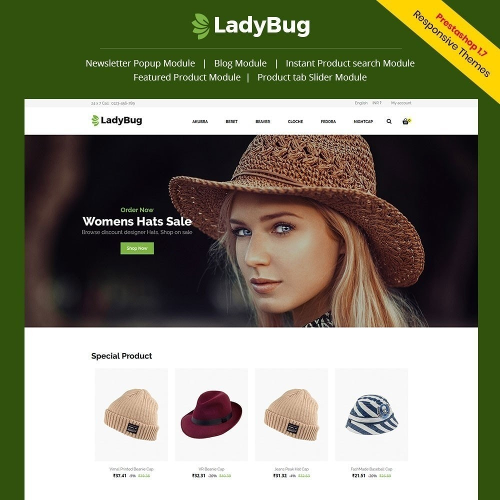 theme - Fashion & Shoes - Lady Bag  Store - 1