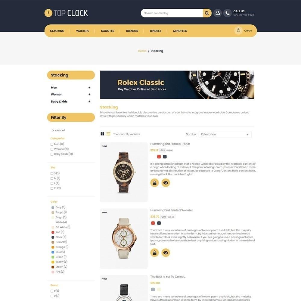 theme - Moda y Calzado - Reloj superior - Tienda de relojes - 4