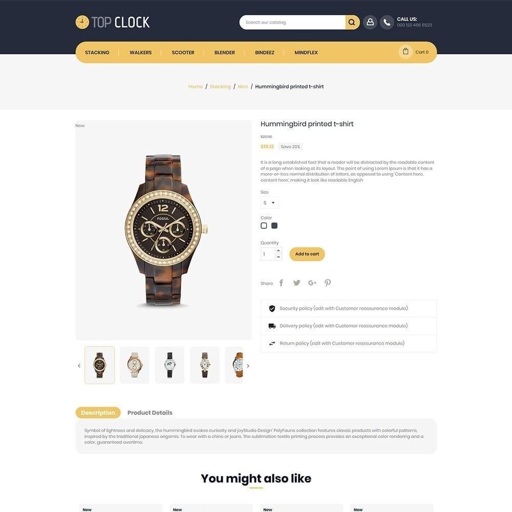 theme - Moda & Obuwie - Top Clock - Watch Store - 5