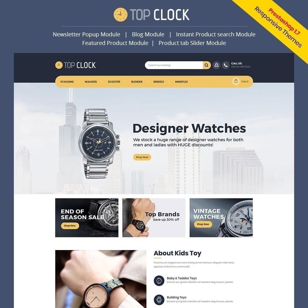 theme - Moda & Calçados - Top Clock - Loja de Relógios - 1