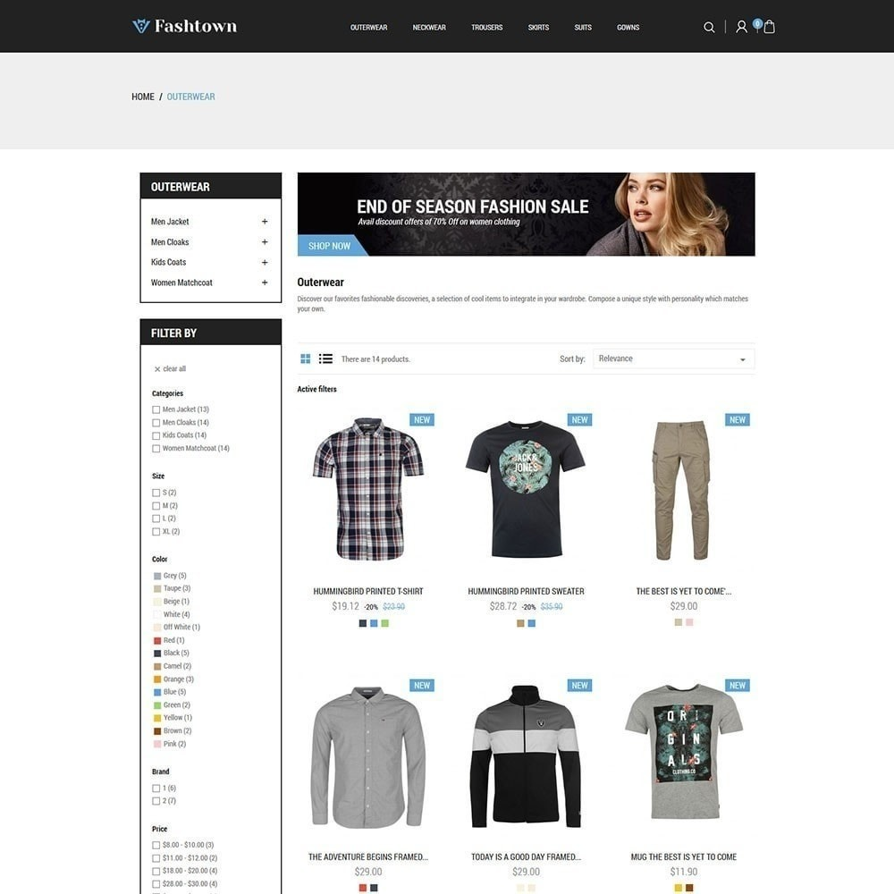 theme - Moda & Calzature - Fashtown - Fashion Store - 5