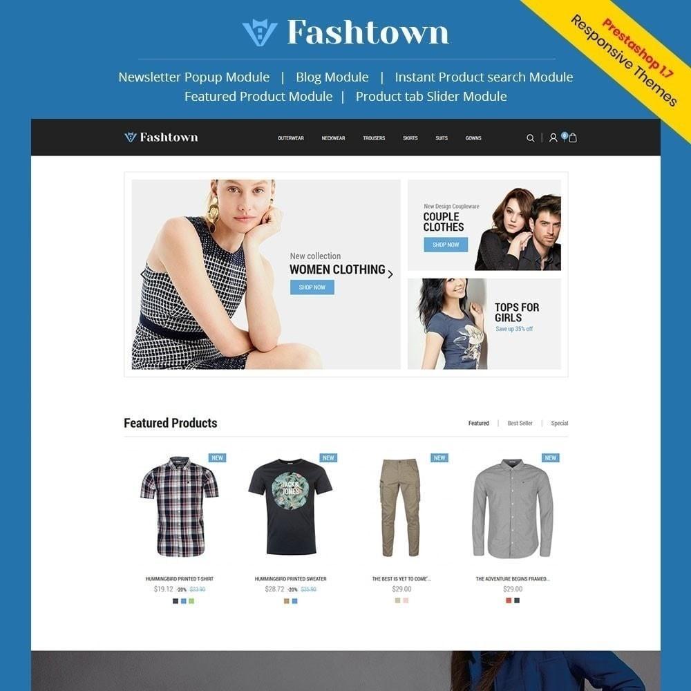 theme - Moda & Calçados - Fashtown - Loja de moda - 1