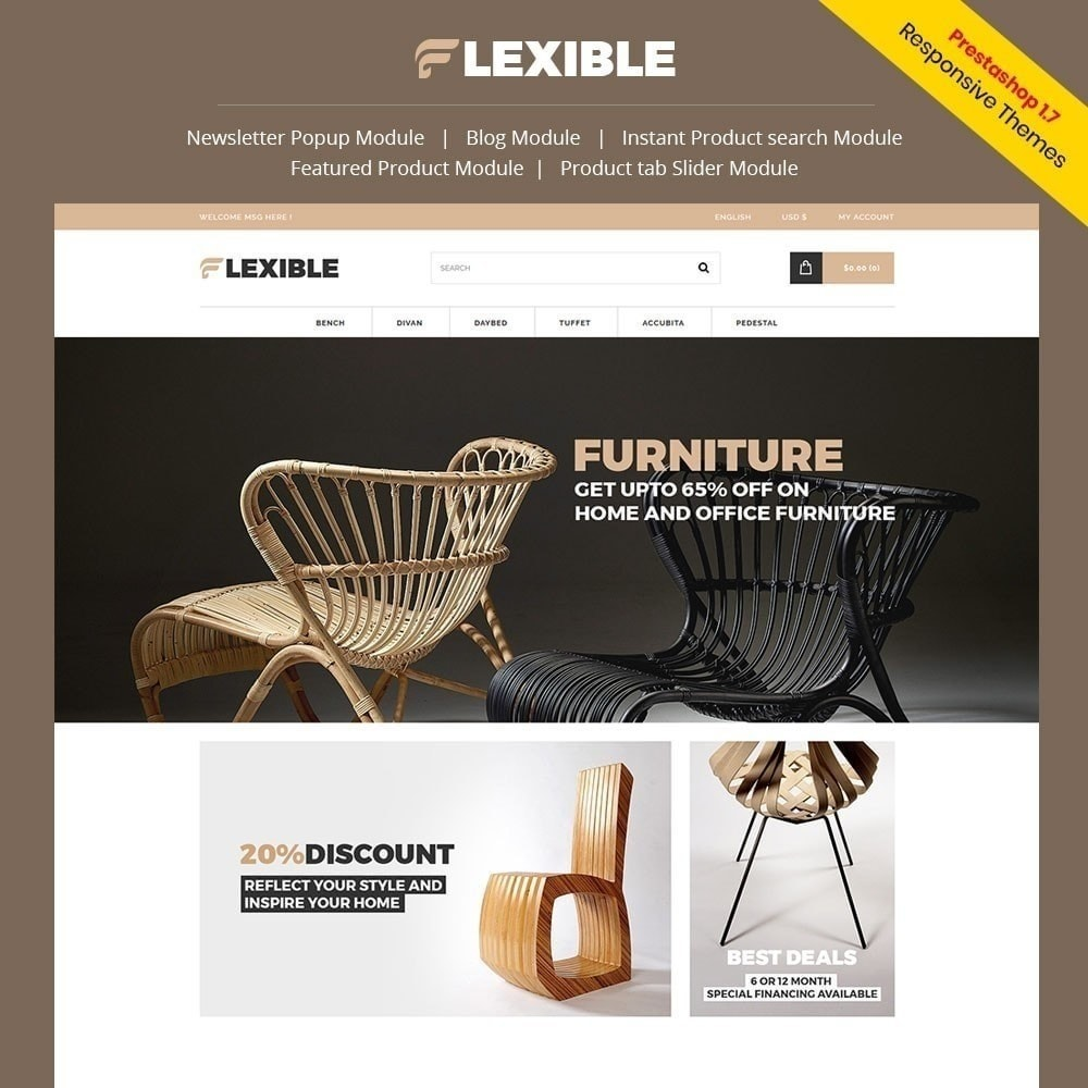 theme - Fashion & Shoes - Flexible  Furniture Store - 5