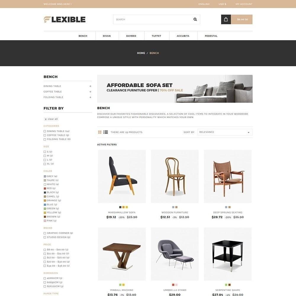 theme - Moda y Calzado - Tienda de muebles flexibles - 3