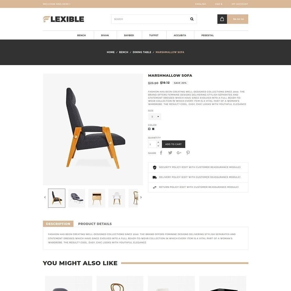 theme - Moda & Calzature - Negozio di mobili flessibile - 3