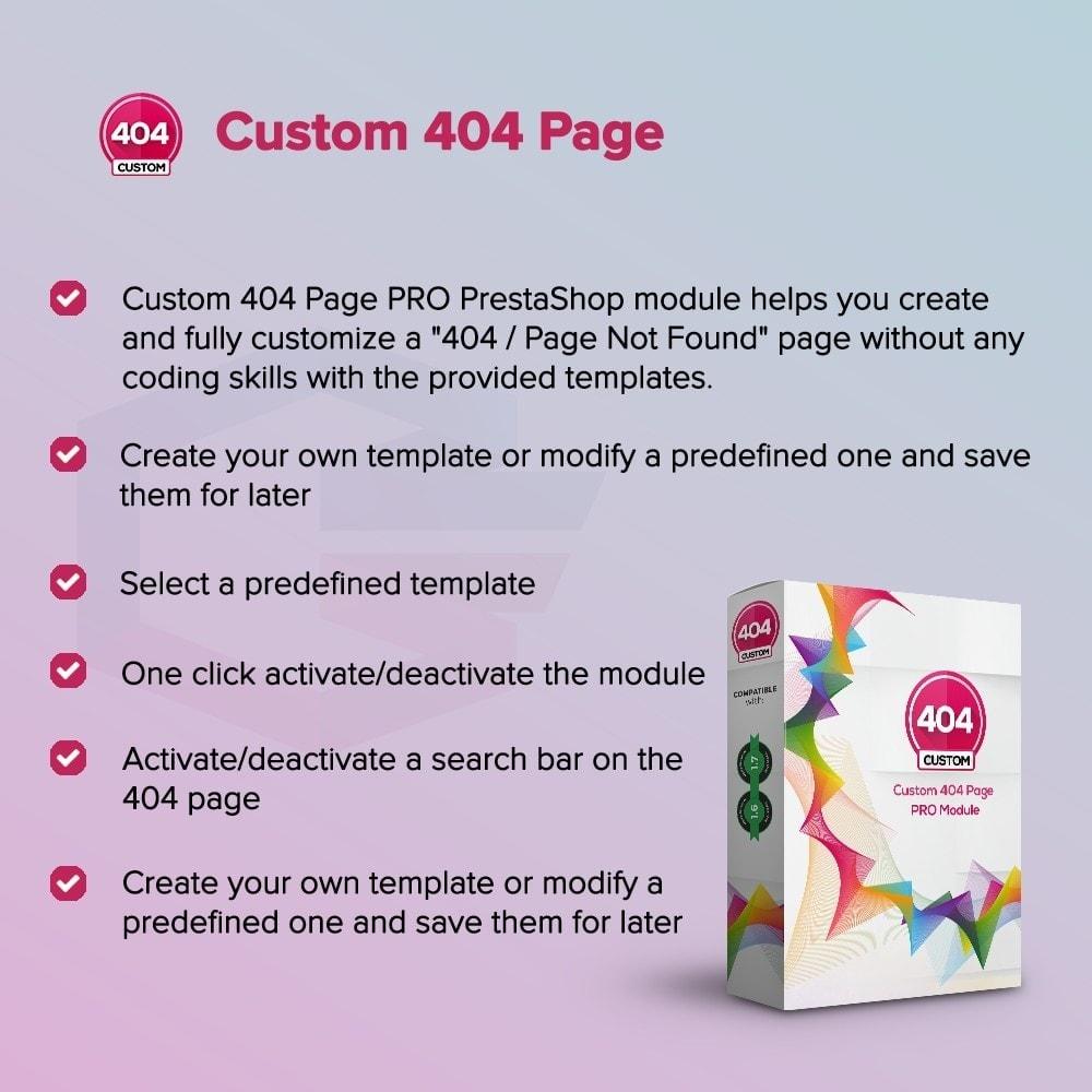 module - Personnalisation de Page - Page d'erreur 404 personnalisée - 1