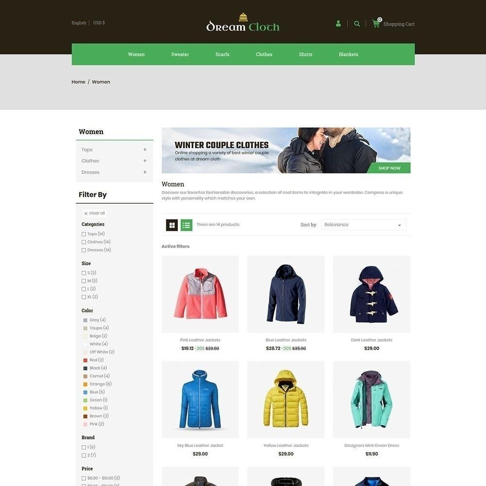 theme - Fashion & Shoes - Dream Cloth Store - 2