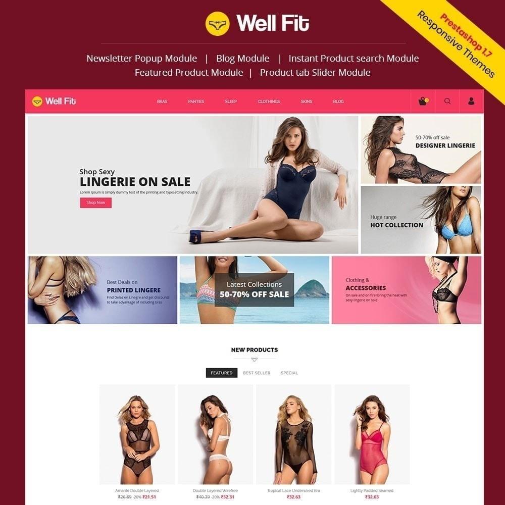 theme - Moda & Calzature - Wellfit - Lingerie Fashion Store - 1