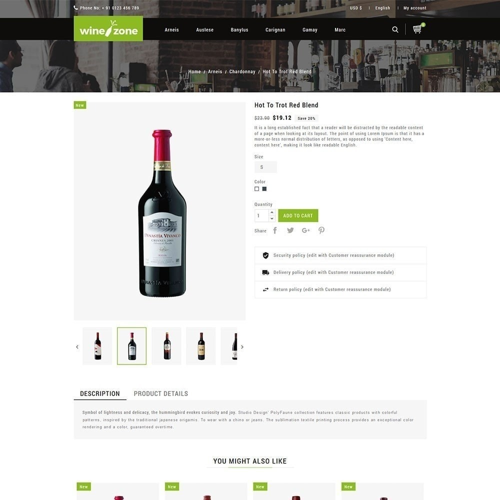 theme - Boissons & Tabac - Winezone - Magasin de vin - 4