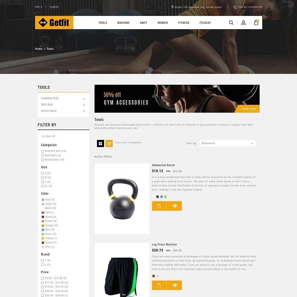theme - Moda & Calçados - Get Fit Gym Store - 5