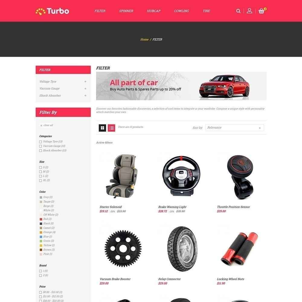 theme - Samochody - Turbo Auto Store - 2