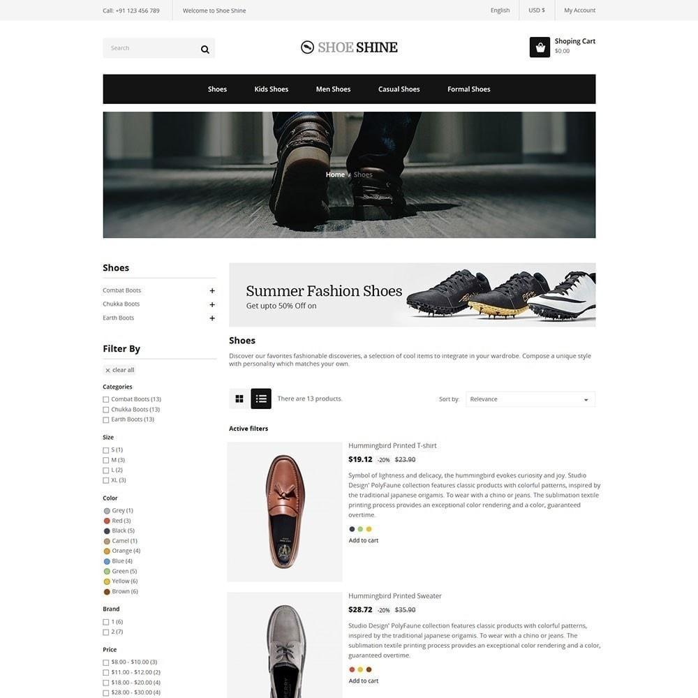 theme - Fashion & Shoes - Shoe Shine Fashion Store - 4
