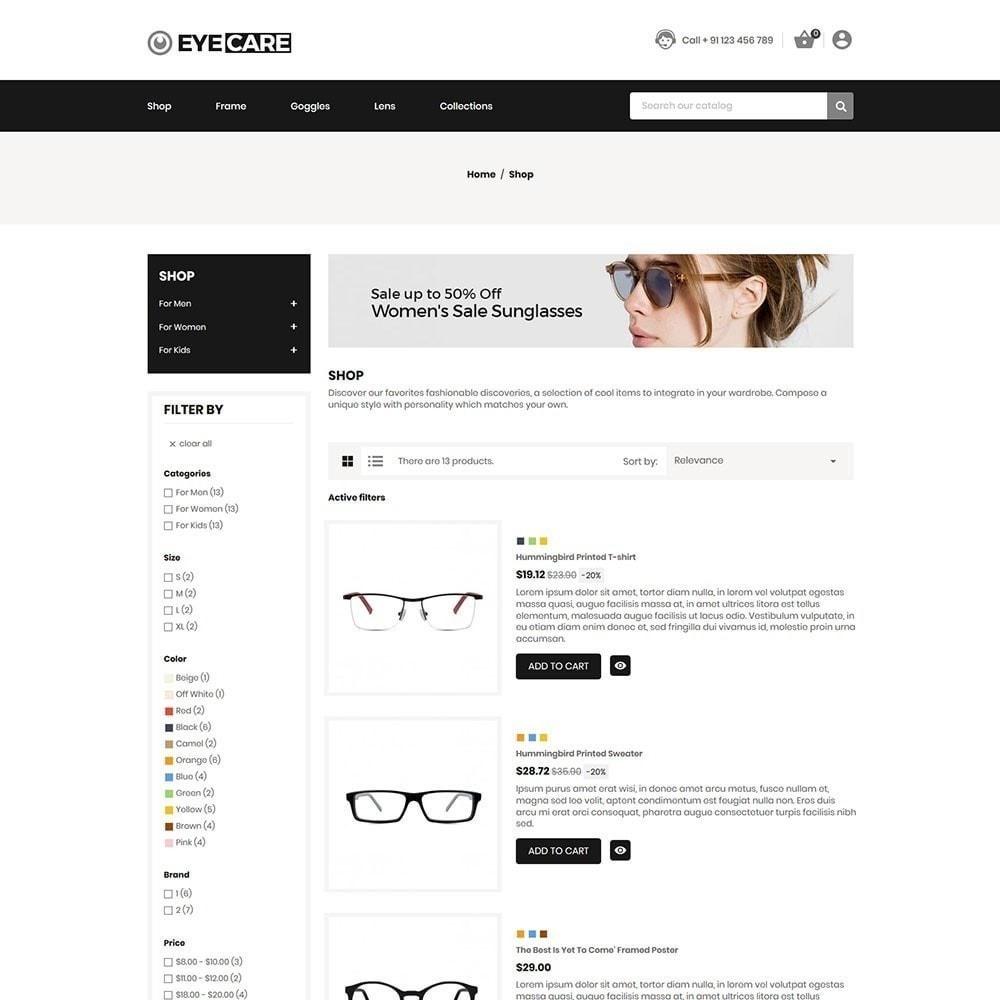 theme - Mode & Schuhe - Eyecare - Modegeschäft - 3