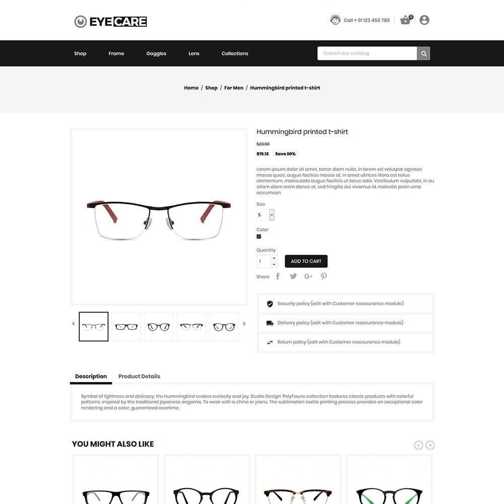 theme - Moda & Calçados - Eyecare - Loja de Moda - 5