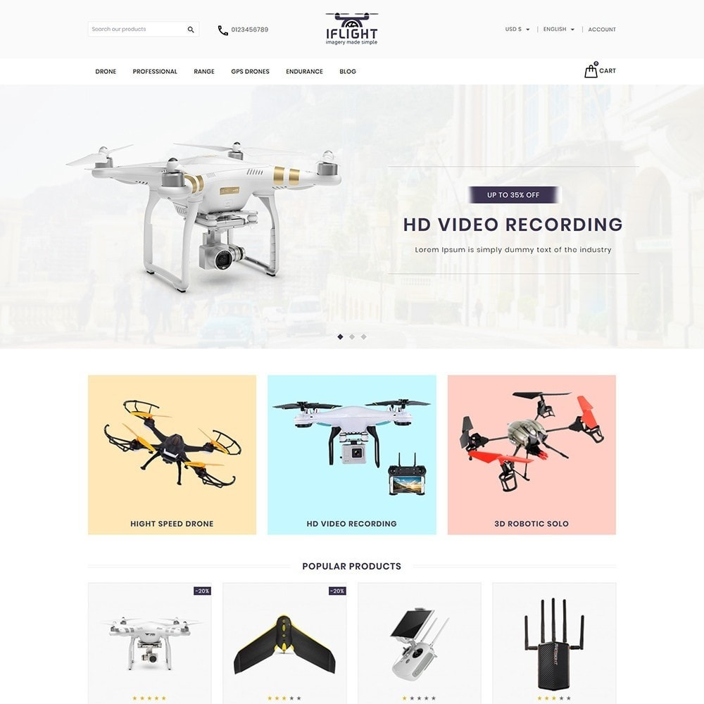 theme - Electronics & Computers - Iflight Drone Shop - 2