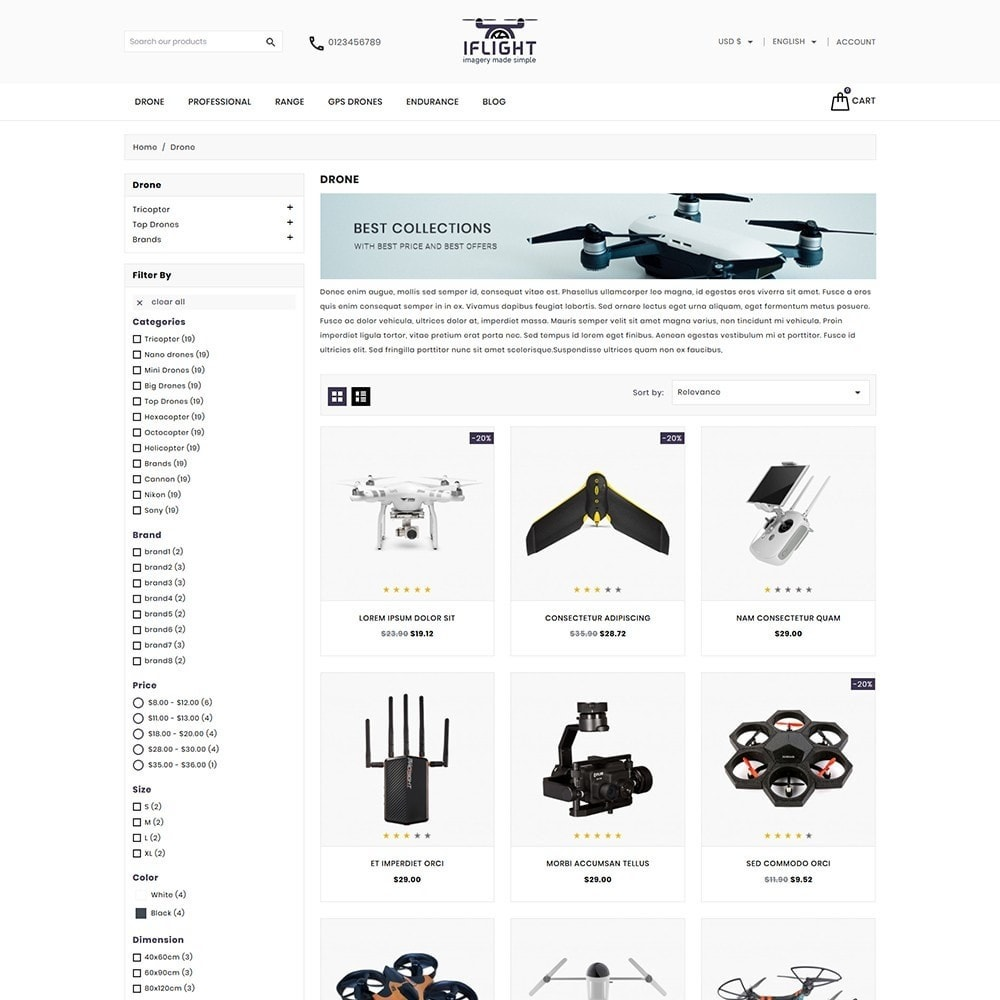 theme - Electronics & Computers - Iflight Drone Shop - 3