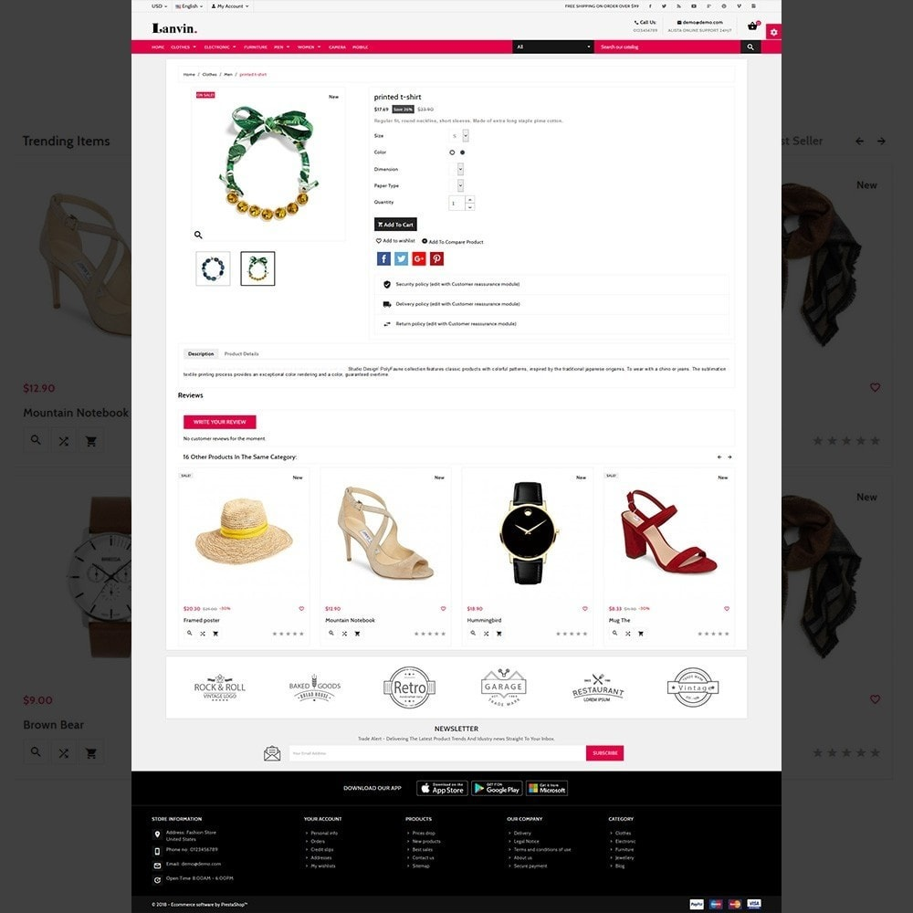 theme - Mode & Chaussures - Lanvin Fashion – Lanvin Fashion Mega Mall - 3