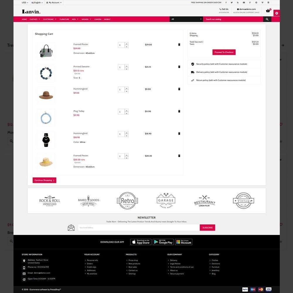 theme - Mode & Chaussures - Lanvin Fashion – Lanvin Fashion Mega Mall - 5